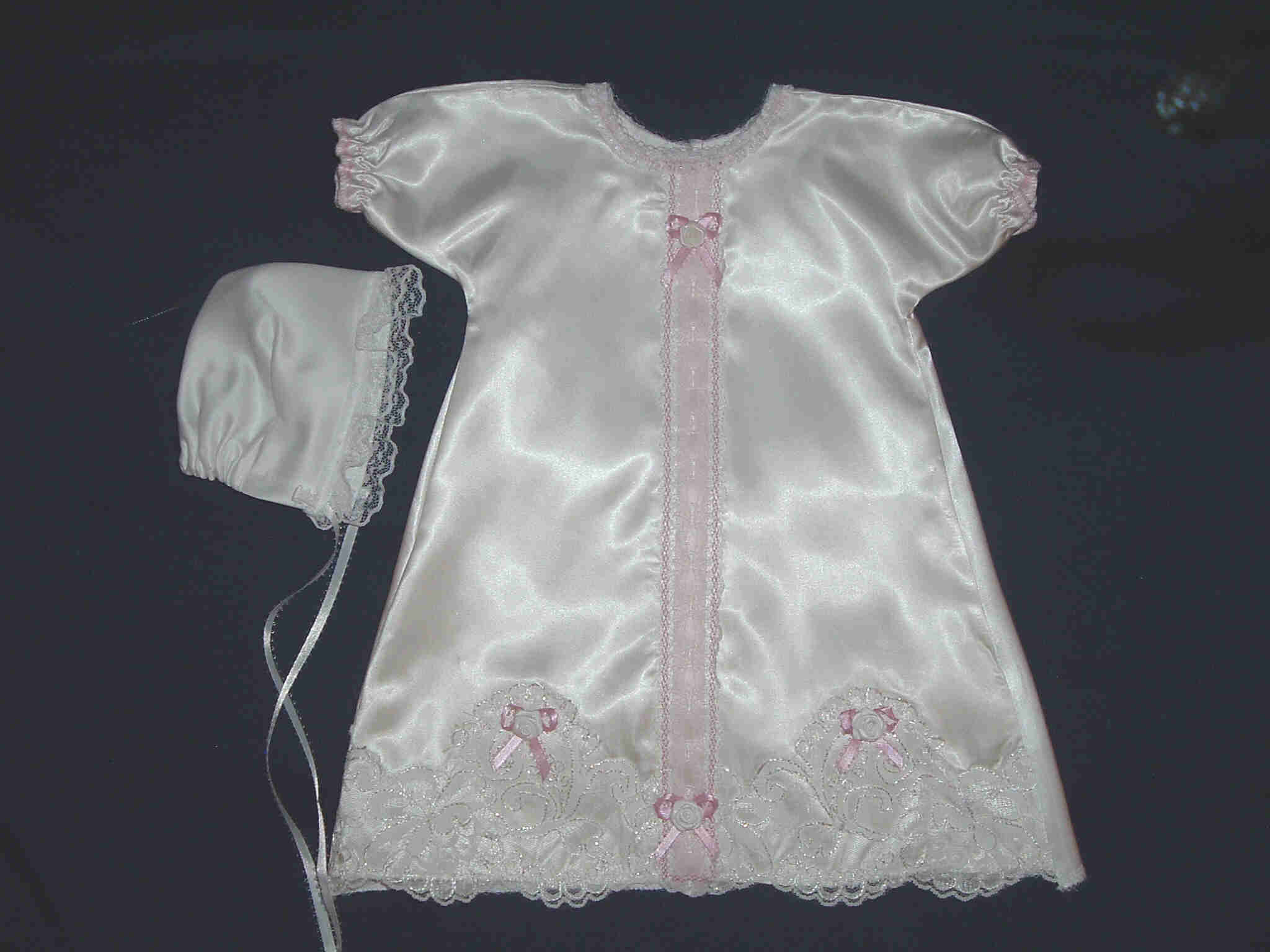 Angel Gown with matching blanket & pillow ...